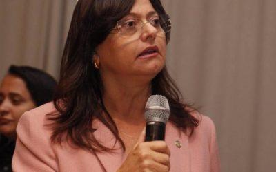 Alice Portugal critica a intervenção federal no Rio de Janeiro