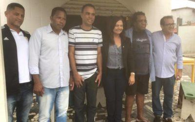 Deputada visita distritos em Vera Cruz