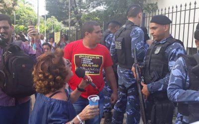 ALICE CONDENA REPRESSÃO DE ACM NETO À GREVE DOS PROFESSORES