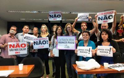"""""""A escola não precisa de censura e mordaça, ela precisa de verbas"""", diz Alice Portugal"""